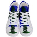 Flag of Cascadia Kid s Hi-Top Skate Sneakers View1