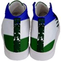 Flag of Cascadia Kid s Hi-Top Skate Sneakers View4