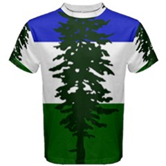 Flag Of Cascadia Men s Cotton Tee by abbeyz71