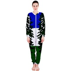 Flag Of Cascadia Onepiece Jumpsuit (ladies)  by abbeyz71