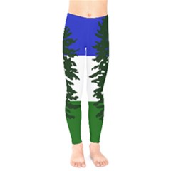 Flag Of Cascadia Kids  Legging by abbeyz71