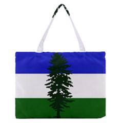Flag 0f Cascadia Zipper Medium Tote Bag by abbeyz71
