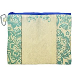 Art Nouveau Green Canvas Cosmetic Bag (xxxl) by 8fugoso