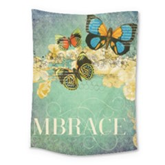 Embrace Shabby Chic Collage Medium Tapestry