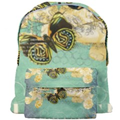 Embrace Shabby Chic Collage Giant Full Print Backpack by 8fugoso