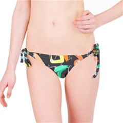 Repetition Seamless Child Sketch Bikini Bottom