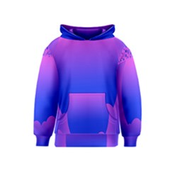 Abstract Bright Color Kids  Pullover Hoodie