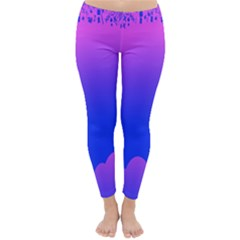 Abstract Bright Color Classic Winter Leggings