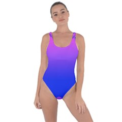 Abstract Bright Color Bring Sexy Back Swimsuit