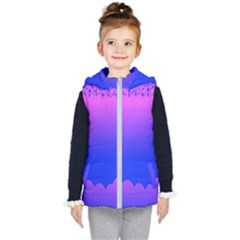 Abstract Bright Color Kid s Puffer Vest