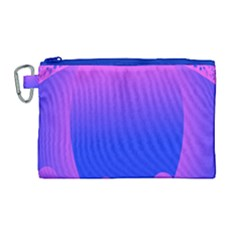 Abstract Bright Color Canvas Cosmetic Bag (large) by Nexatart