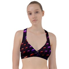 Mode Background Abstract Texture Sweetheart Sports Bra