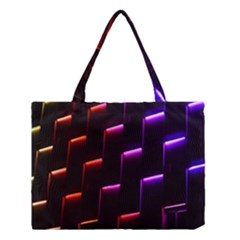 Mode Background Abstract Texture Medium Tote Bag