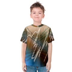 Pop Art Edit Artistic Wallpaper Kids  Cotton Tee