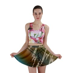 Pop Art Edit Artistic Wallpaper Mini Skirt