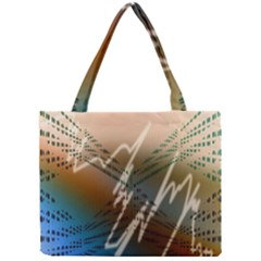 Pop Art Edit Artistic Wallpaper Mini Tote Bag
