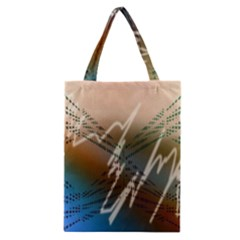 Pop Art Edit Artistic Wallpaper Classic Tote Bag