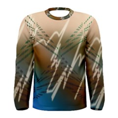 Pop Art Edit Artistic Wallpaper Men s Long Sleeve Tee