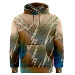 Pop Art Edit Artistic Wallpaper Men s Pullover Hoodie