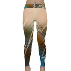 Pop Art Edit Artistic Wallpaper Classic Yoga Leggings