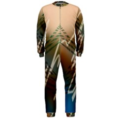 Pop Art Edit Artistic Wallpaper OnePiece Jumpsuit (Men)