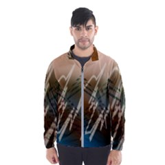 Pop Art Edit Artistic Wallpaper Wind Breaker (Men)