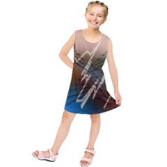 Pop Art Edit Artistic Wallpaper Kids  Tunic Dress