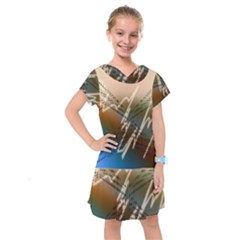 Pop Art Edit Artistic Wallpaper Kids  Drop Waist Dress