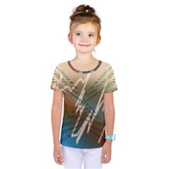 Pop Art Edit Artistic Wallpaper Kids  One Piece Tee