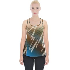 Pop Art Edit Artistic Wallpaper Piece Up Tank Top