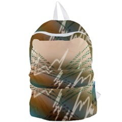 Pop Art Edit Artistic Wallpaper Foldable Lightweight Backpack