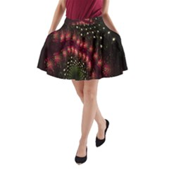 Background Texture Pattern A Line Pocket Skirt