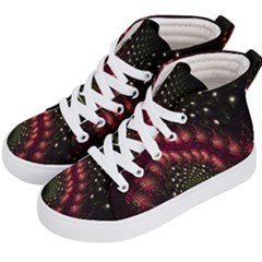 Background Texture Pattern Kid s Hi-top Skate Sneakers by Nexatart