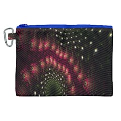 Background Texture Pattern Canvas Cosmetic Bag (xl) by Nexatart