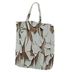 Dry Nature Pattern Background Giant Grocery Zipper Tote