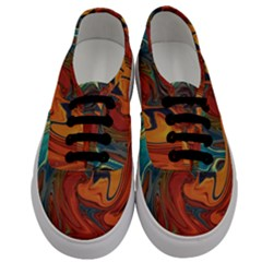 Creativity Abstract Art Men s Classic Low Top Sneakers