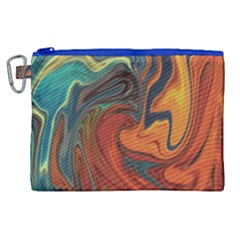 Creativity Abstract Art Canvas Cosmetic Bag (xl) by Nexatart