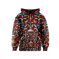 Decoration Art Pattern Ornate Kids  Pullover Hoodie