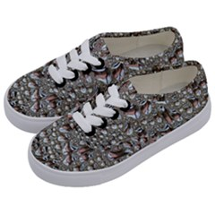 Droplets Pane Drops Of Water Kids  Classic Low Top Sneakers by Nexatart