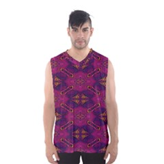Pattern Decoration Art Abstract Men s Basketball Tank Top