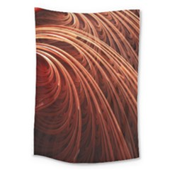Abstract Fractal Digital Art Large Tapestry