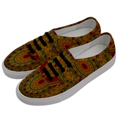India Mystic Background Ornamental Men s Classic Low Top Sneakers by Nexatart