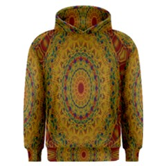 India Mystic Background Ornamental Men s Overhead Hoodie