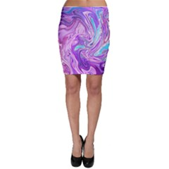 Abstract Art Texture Form Pattern Bodycon Skirt