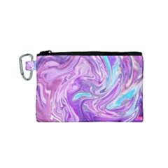 Abstract Art Texture Form Pattern Canvas Cosmetic Bag (small)