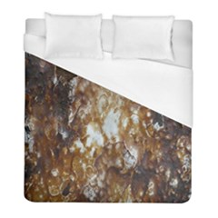 Rusty Texture Pattern Daniel Duvet Cover (full/ Double Size)