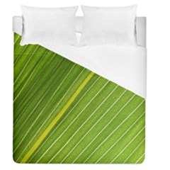 Leaf Plant Nature Pattern Duvet Cover (queen Size)
