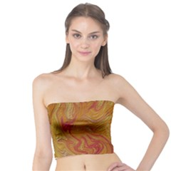 Texture Pattern Abstract Art Tube Top