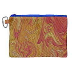 Texture Pattern Abstract Art Canvas Cosmetic Bag (xl) by Nexatart