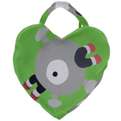 Magnemite (blue) Giant Heart Shaped Tote